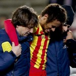 Neymar Was Already Injured Before the Copa Del Rey Final, the Brazilian Pulled Up in the Game Against Getafe.
