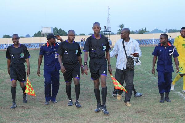 The NPFL's Fight Against Hooliganism: The LMC Have Engaged the Nigeria Security and Civil Defence to Enhance Security at Match Venues. Image Credit: LMC.
