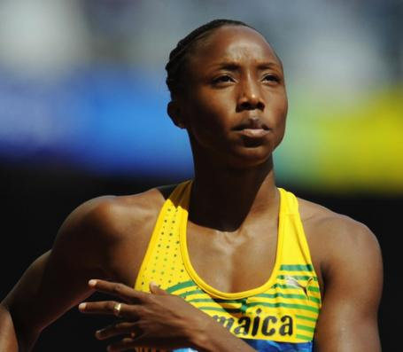 Jamaica's Sherone Simpson Will Not Compete in Glasgow Commonwealth Game.