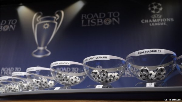 The Uefa Champions League Draw Took Place in Nyon, Switzerland.