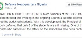 Principal Of GGSS Reveals: Military Lied About Rescue Of Abducted Female Students