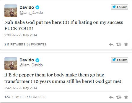 Capture150 You Guys Can Never Bring Me Down – Davido