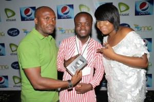 IMG 97581 300x199 See Etisalat Ambassador Sasha and Patoranking get down at Nigerian Idol Eviction Party