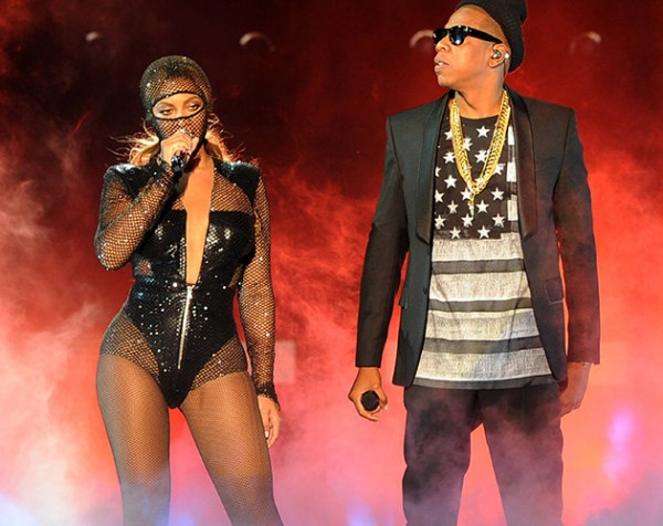 beyonce n hubby 0 600x476 Finally! Check Out Photos From JayZ & Beyonce's 2008 Secret Wedding