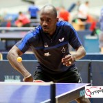 Segun Toriola in Action During an All-African Games Match.
