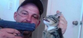 Man Investigated For Animal Cruelty After Posting Photo Pointing Gun At Cat's Head