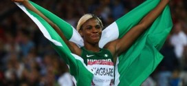 Glasgow 2014: Okagbare Completes Commonwealth Games 100m/200m Doubles