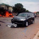Buhari Escapes Death In Kaduna Bombing