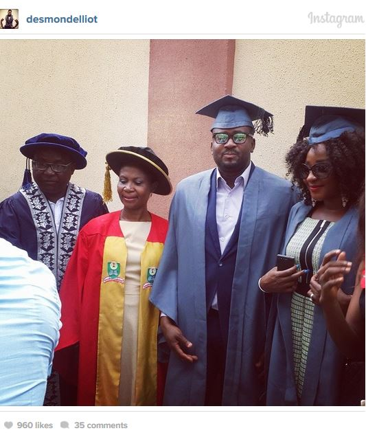 Capture100 Check Out Nollywood Stars Studying At National Open University Of Nigeria