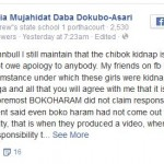 Asari Dokubo's Wife Says Chibok Girls Abduction Is A Scam