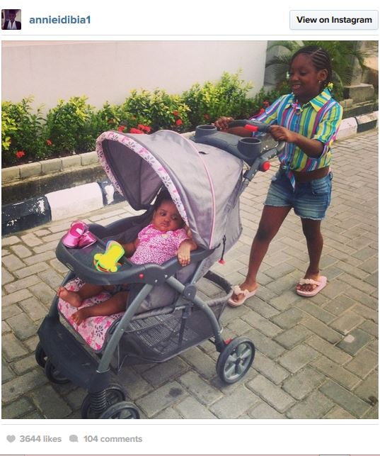 Capture140 Annie Idibia Shares New Photo Of Children