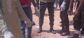 Very graphic photo: Charred remains of female suicide bomber