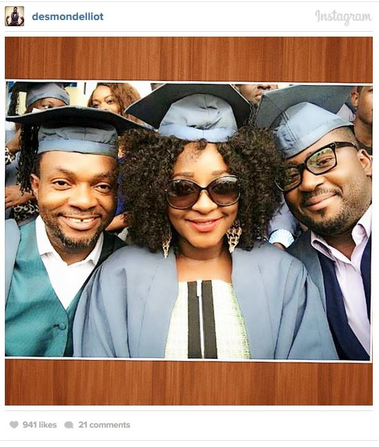 Capture99 Check Out Nollywood Stars Studying At National Open University Of Nigeria