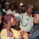 Jonathan Finally Meets Parents Of Abducted Chibok Girls, Vows To Rescue Them