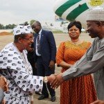 Jonathan In Lagos On Private Visit
