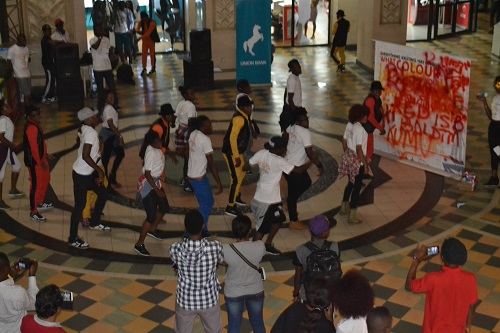 Silverbird Flash Mob