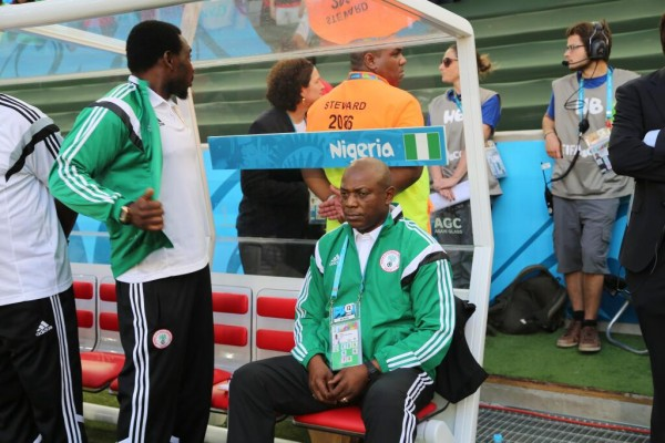 Stephen Keshi Denies Resignation Reports.