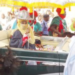 Emir Sanusi Performs First 'Hawan Daushe' Durbah Despite Security Fears