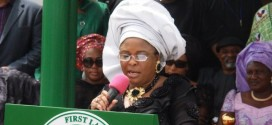 SCOAN Building Collapse: First Lady Commiserates With Victims' Families