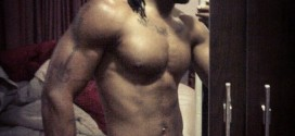 Flavour N'abania Shares Another Half-unclad Selfie