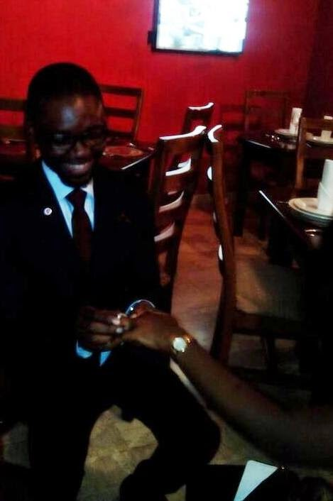 japhet2 Omojuwa Proposes To Girlfriend