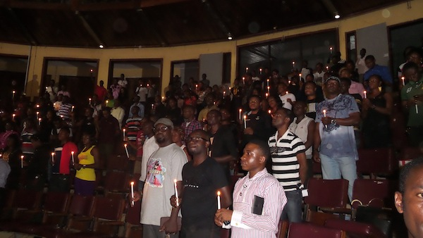 kefe7 PHOTOS: Candle Light Held In Memory Of The Late Kefee