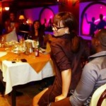 Nadia Buari Gives Jim Iyke A Lap Dance In A Restaurant