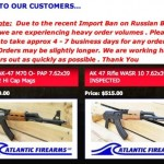 Russian Sanctions Spark AK-47 Buying Frenzy In U.S.