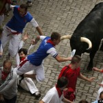 Author Of Book On How To Survive Running Of The Bulls Gored By Bull
