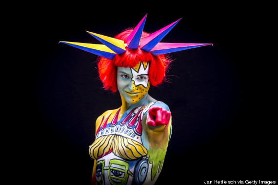 The world bodypainting festival bills itself as most colorful event