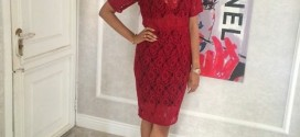 Tania Omotayo Explores Her Risque Side In See-Through Dress