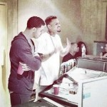 End of Rivalry: Drake and Chris Brown in the studio together (Photo)