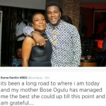 Burna Boy dismisses his mother as his manager on Twitter