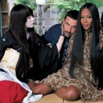 Photos: Naomi Campbell Goes Totally N*DE For Vogue Japan's September2014 Issue