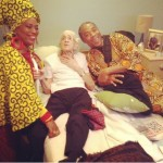 Photo: Femi & Yeni Kuti celebrate their grandma as she turns 93