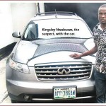 Photo: Driver who escaped with employer's N6.5m vehicle arrested