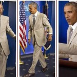 Yes We Tan: Barack Obama's tan suit sparks uproar on Twitter