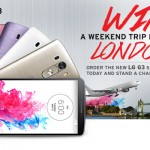 Jumia LG G3 - Win a trip to london