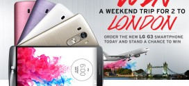 Unveiling the New LG G3 phone on Jumia – Win a Free Trip to London