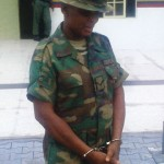 What Re-Arrested Fake Female Soldier Has To Say
