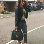 Mercy Aigbe and Her Kids On Vacation In The UK – Photos