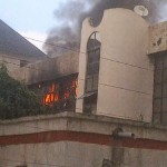 Mysterious Fire Guts Part of NFF Office, Leaves Accounts Intact