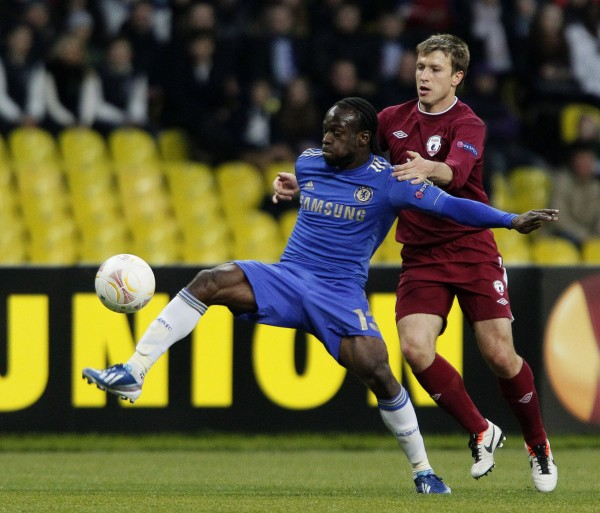 Victor Moses Has Scored 10 Times in 41 Appearances for Chelsea Since Joining from Wigan in August 2012.