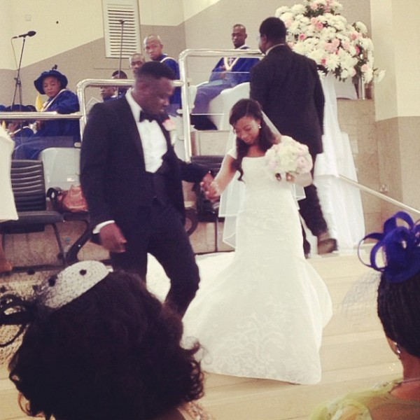 eeee Check Out Photos From Dr Sid & Simi's White Wedding
