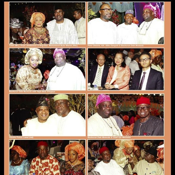 g New Photos From President Jonathan's Daughter's Wedding
