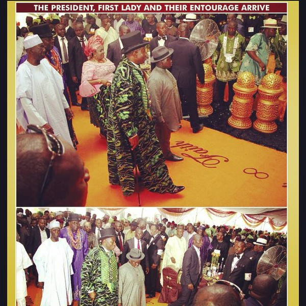 g1 New Photos From President Jonathan's Daughter's Wedding
