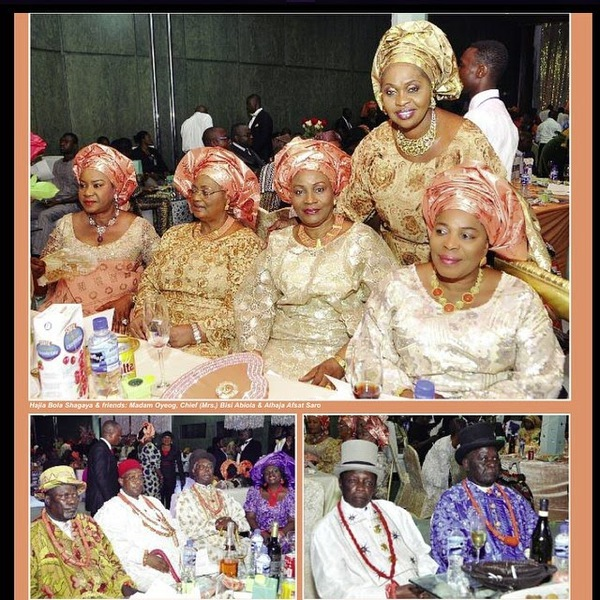 gg New Photos From President Jonathan's Daughter's Wedding