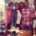 Omotola Jalade-Ekeinde's Son Marks His 16th Birthday In SA