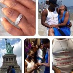 "Osas Ighodaro On Engagement To Gbenro Ajibade: ""Baby I Got You"""