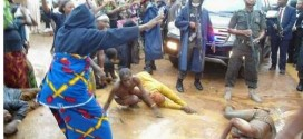 Photos: Women protest half-unclad against Kaduna state governor
